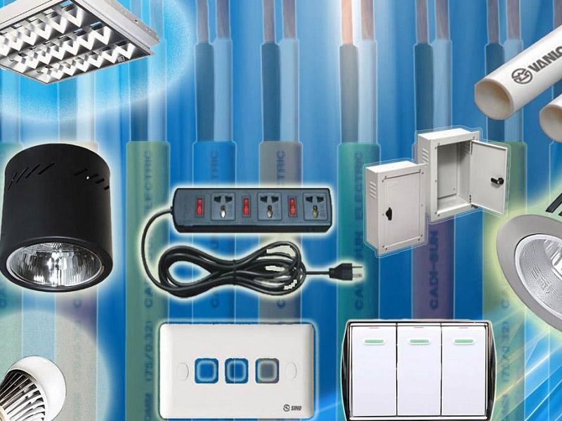 thiết kế cửa hàng điện nước
