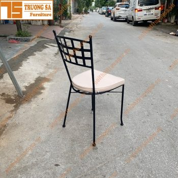 Ghế ngoài trời bằng sắt TS117