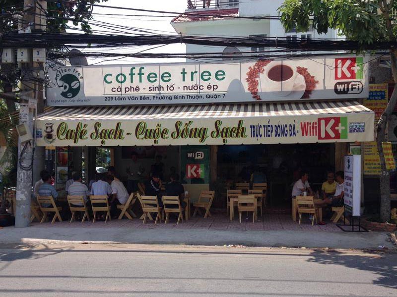 chi phí mở quán cafe bình dân
