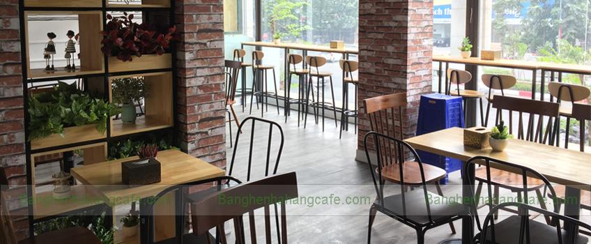 bàn ghế nhà hàng cafe trà sữa