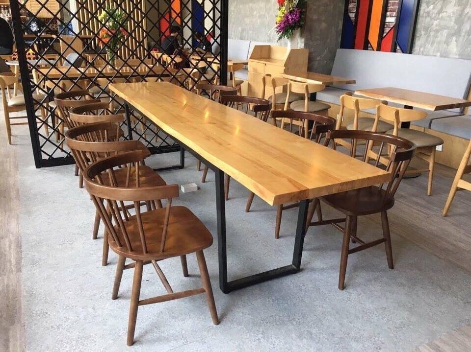 Bàn ghế cafe gỗ TS172
