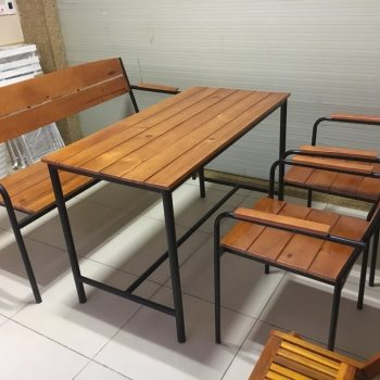 Bàn ghế cafe TS258