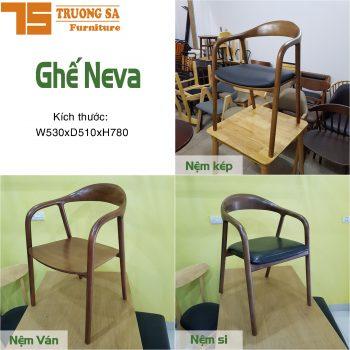 Bàn ghế cà phê gỗ