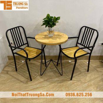 Bàn ghế cafe khung sắt TS275-min