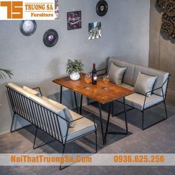 Bàn ghế cafe sofa TS329
