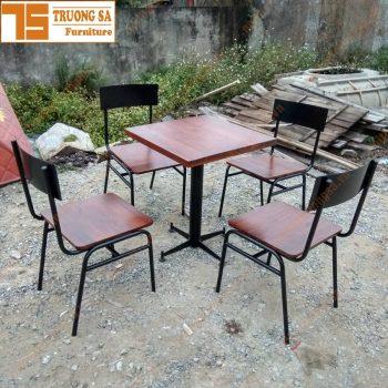 Bàn ghế cà phê sắt TS360