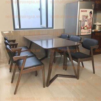 Bộ bàn ăn 6 ghế TS377