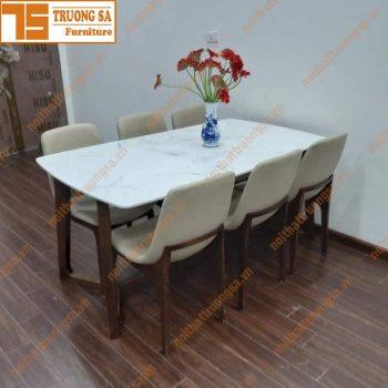 Bộ bàn ăn 6 ghế TS378