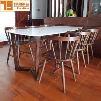 Bộ bàn ăn 6 ghế TS379