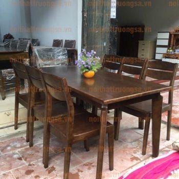 Bộ bàn ăn 6 ghế TS393