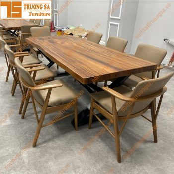 Bộ bàn ăn 8 ghế đẹp TS369