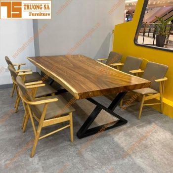 Bộ bàn ăn 6 ghế TS365