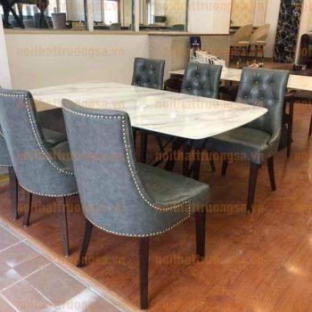 Bộ bàn ghế ăn tân cổ điển TS383