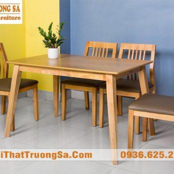 bàn ghế phòng ăn TS283