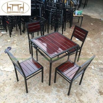 bàn ghế cafe TS264