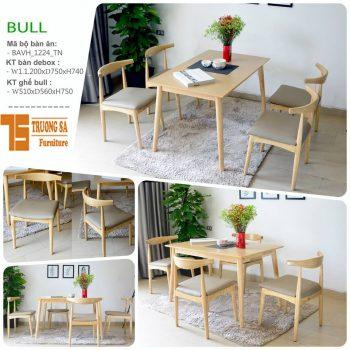 bàn ghế phòng ăn TS308