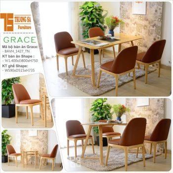 bàn ghế nhà hàng TS305