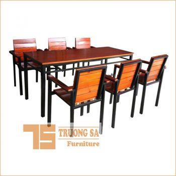 bàn ghế nhà hàng TS410