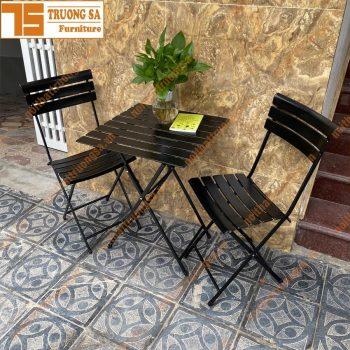 Bộ bàn ghế ban công TS457