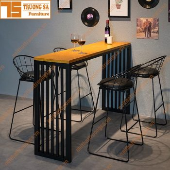 bàn ghế quầy bar TS111