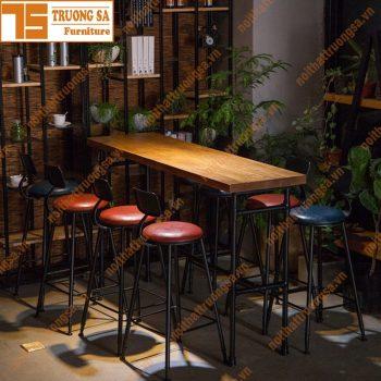 bàn ghế quầy bar TS112