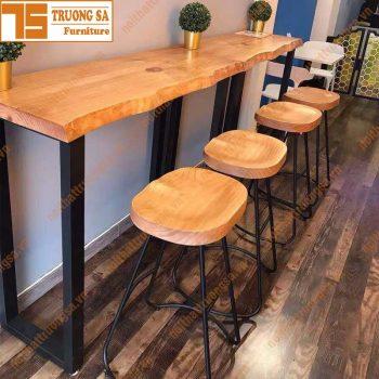 bàn ghế quầy bar TS116