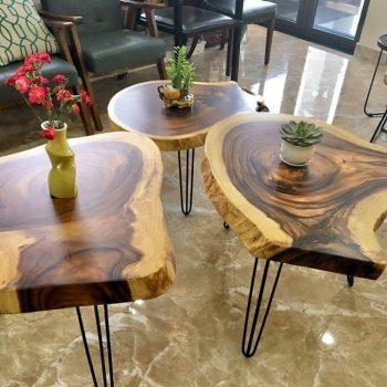 bàn gỗ nguyên tấm TS130