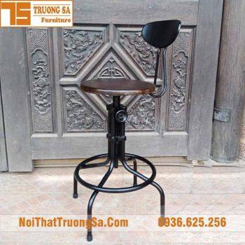 ghế bar sắt retro TS491