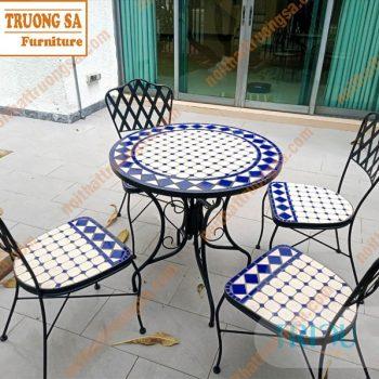 bộ bàn ghế ngoài trời đẹp TS130
